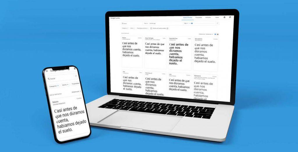 Tipografía web y psicología tipográfica, su impacto en el publico objetivo